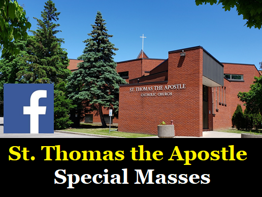 st thomas the apostle special masses